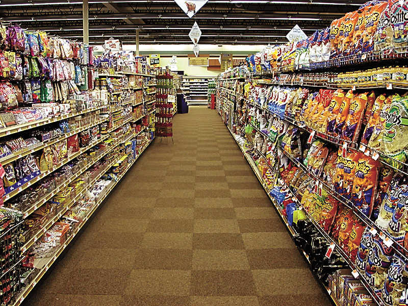 grocery supermarket aisle isle food ass stores reentry corps peace repatriation multinational volunteers corporations dilemma personnel employees coming military experience